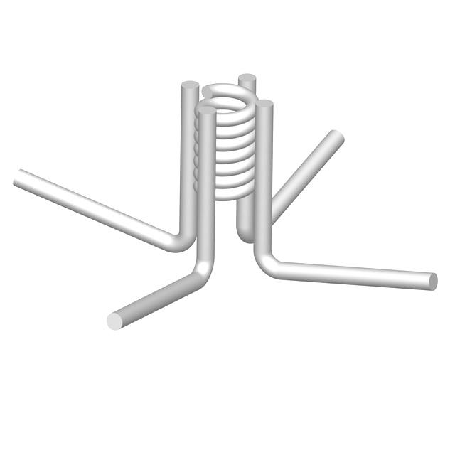 Conac concrete accessories of ga lifting spacers formwork thin slab 4 leg coil insert 1 12x3 34 wplastic cap publicscrutiny Images