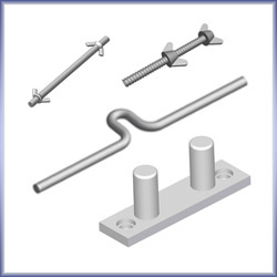Flat Steel Mounting Accessories
